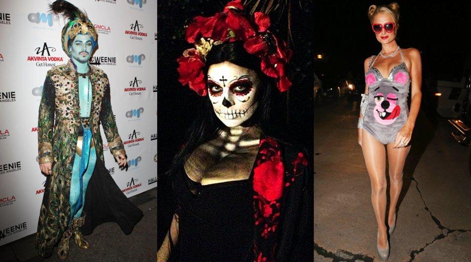 Paris Hilton, Fergie und Adam Lambert