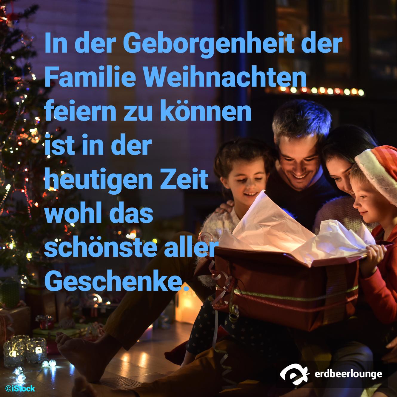 Weihnachten 8 - Familie schönste Geschenk