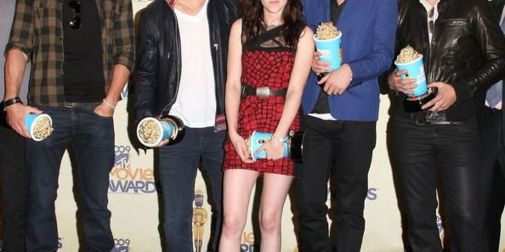 die Crew von Twilight bei den MTV Movie Awards
