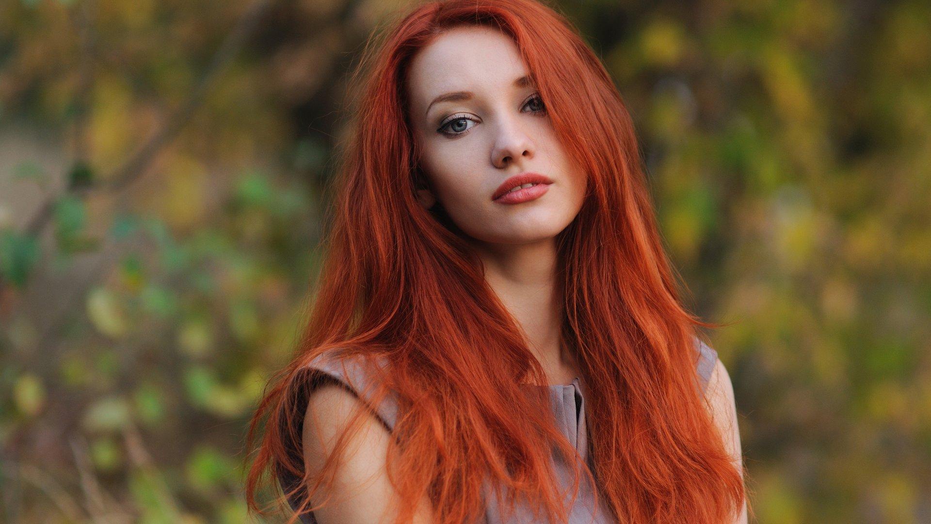 Rote braune haare augen Rote haare