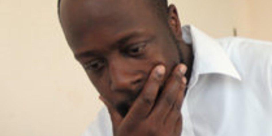 Wyclef Jean liegt im Krankenhaus