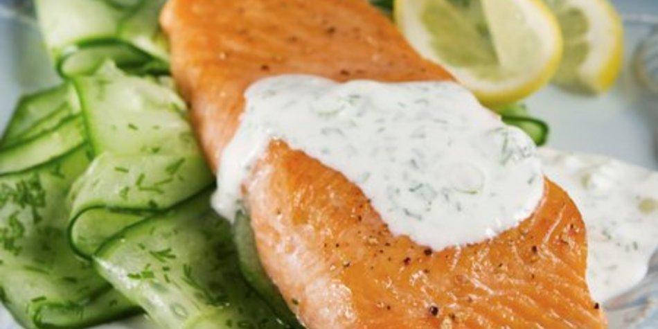 Fisch mit Dillsoße