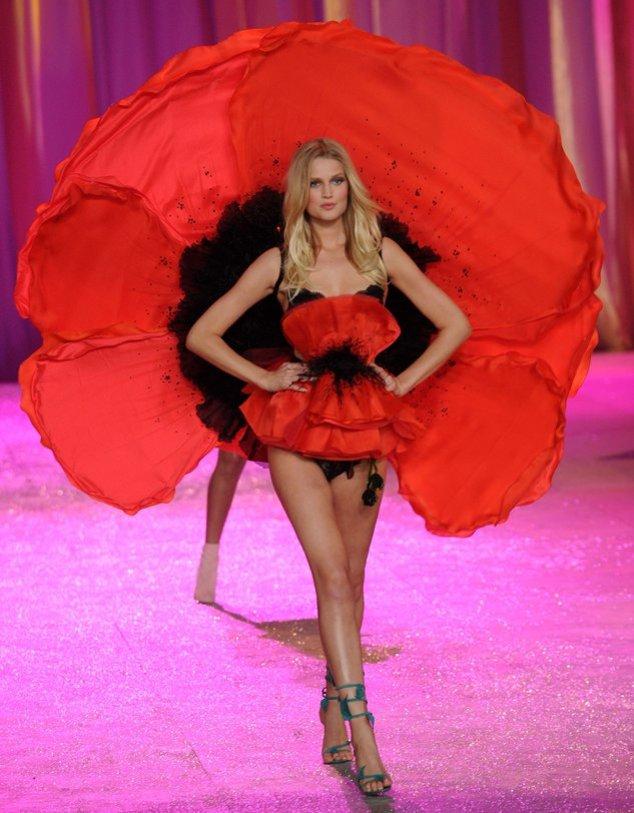 Toni Garrn bei Victoria's Secret