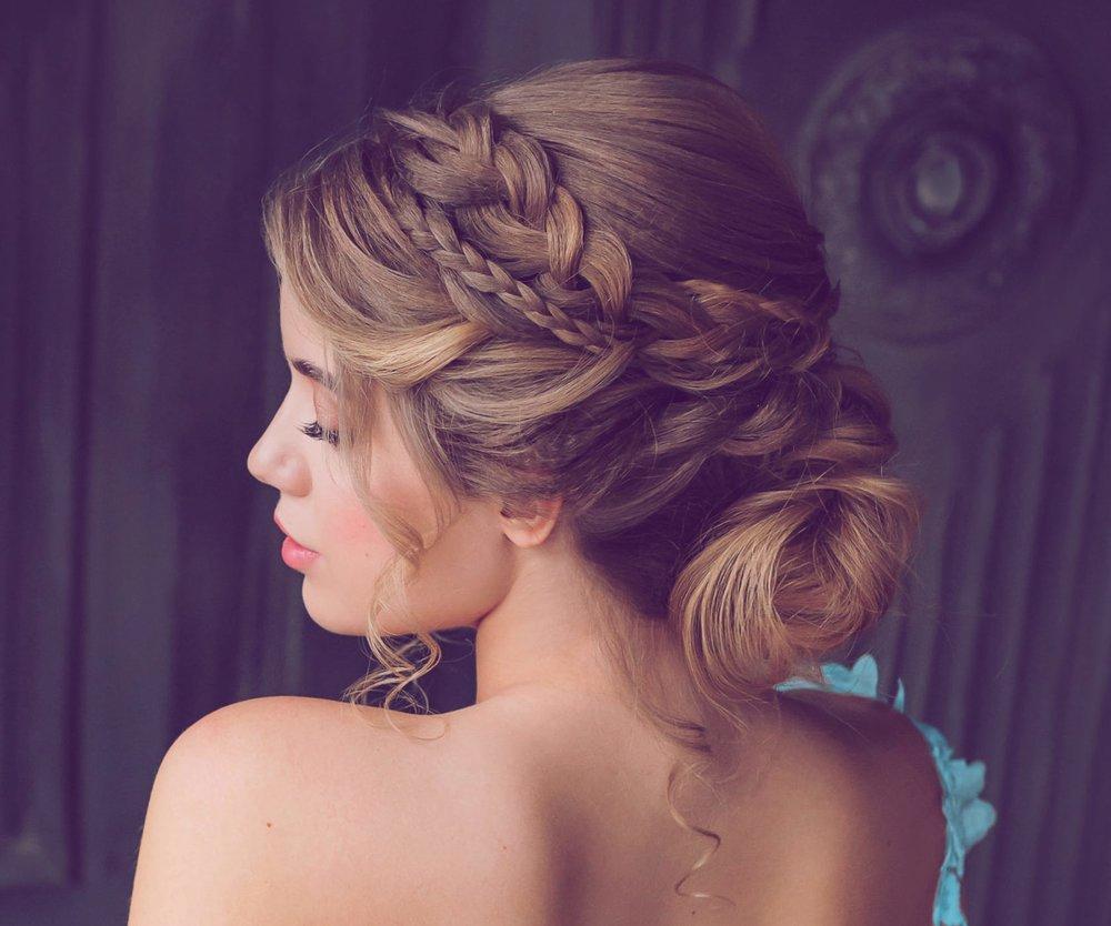 Frisur Hochzeit Gast Glatte Haare Coiffure