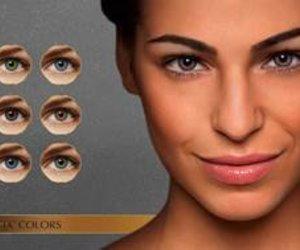 Neue Augenfarbe, überraschender Look