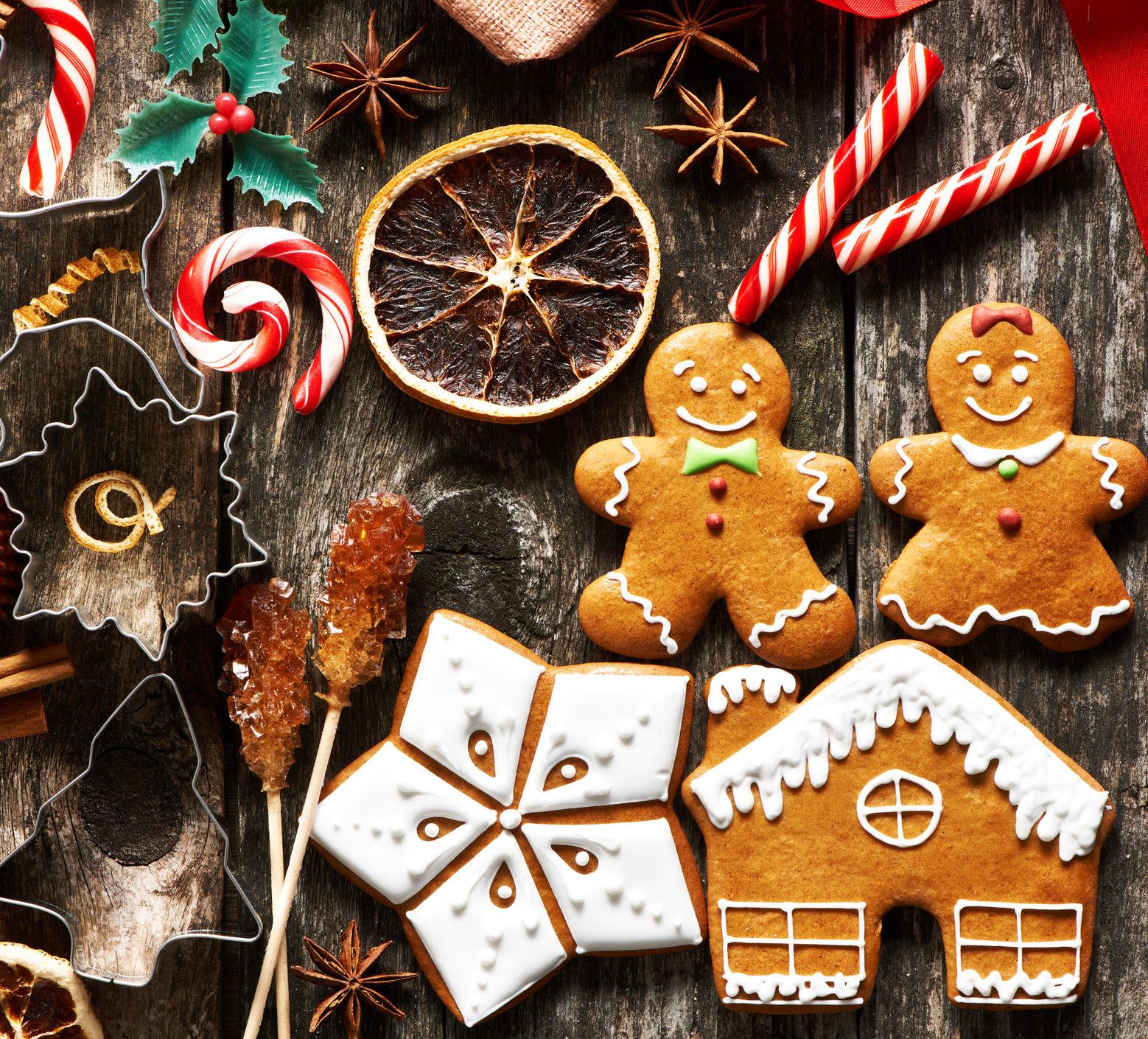 Weihnachts-Süßigkeiten