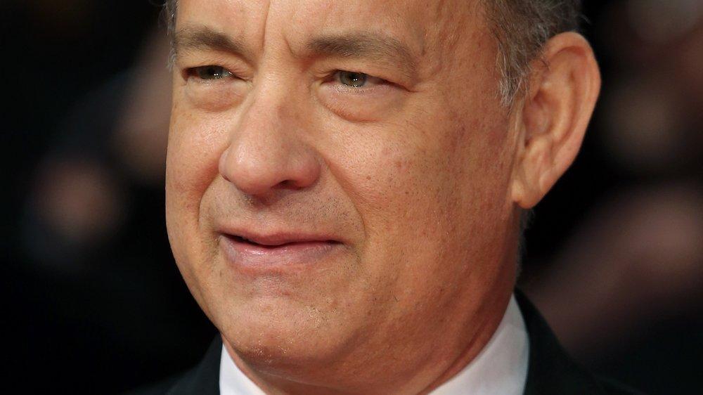 Tom Hanks ist stolzer neuer Besitzer eines himmelblauen Trabi