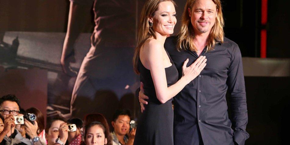 Brad Pitt: Liebesbrief an Angelina nur Fake
