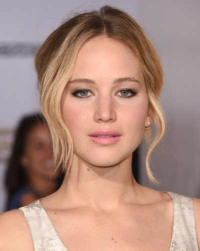 Jennifer Lawrence: Hochgesteckter Bob