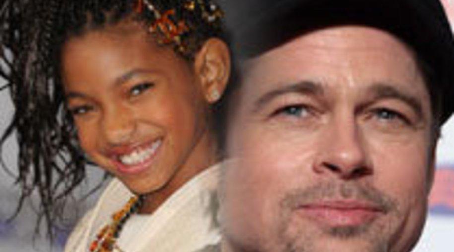 """Willow Smith: """"Brad Pitt soll mein Film-Vater sein!"""""""