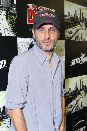 The Walking Dead-Darsteller Andrew Lincoln.