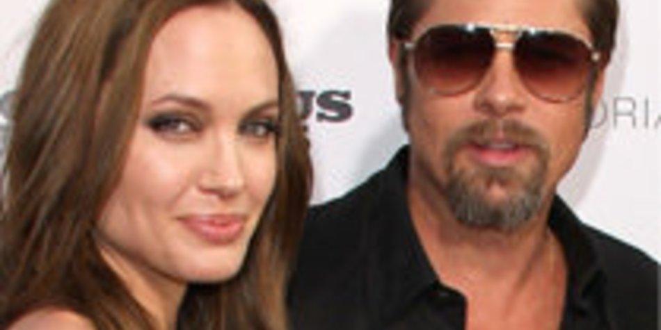 Brad Pitt und Angelina Jolie: Entspannter Tag am Strand