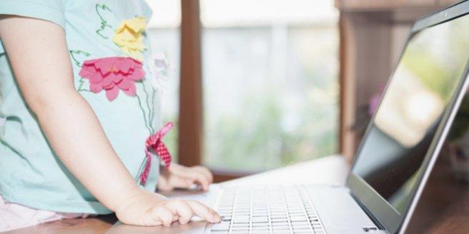Kinder im Internet: Nutzung wird immer früher