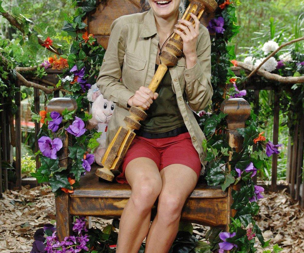 Dschungelcamp: Melanie ist Königin!