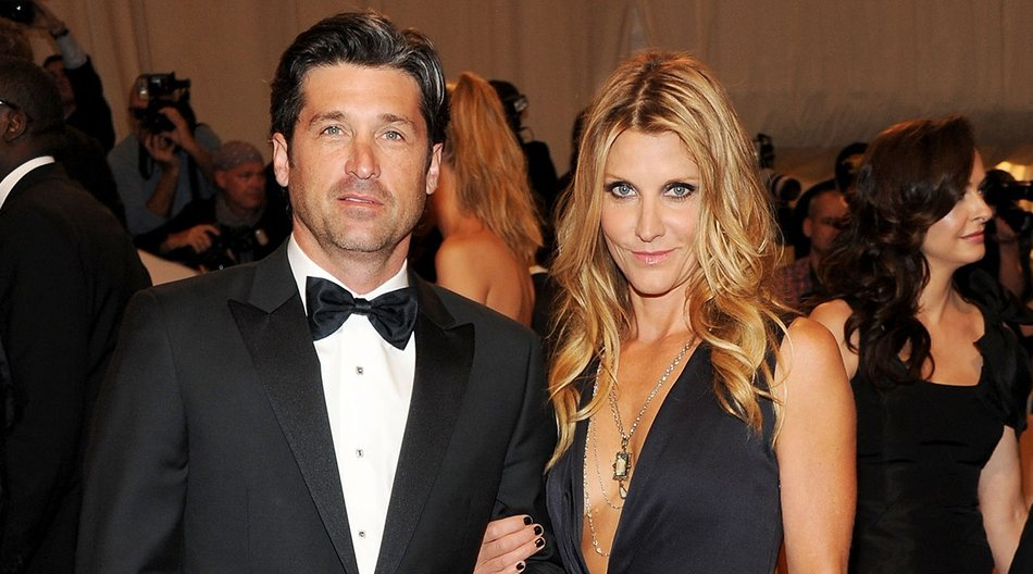 "NEW YORK, NY - MAY 02: Actor Patrick Dempsey and Jill Fink attend the ""Alexander McQueen: Savage Beauty"" Costume Institute Gala at The Metropolitan Museum of Art on May 2, 2011 in New York City. (Photo by Larry Busacca/Getty Images)"