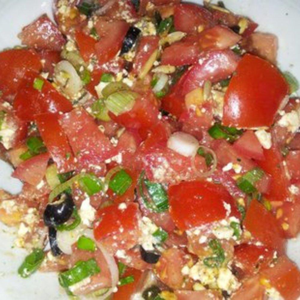 Salatdressing griechischer Salat