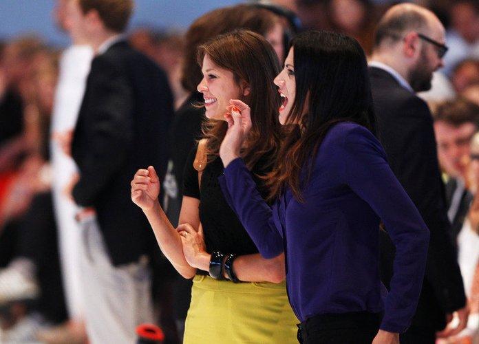 Jessica Schwarz und Bettina Zimmermann.