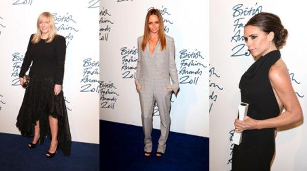 Sarah Burton, Stella McCartney und Victoria Beckham