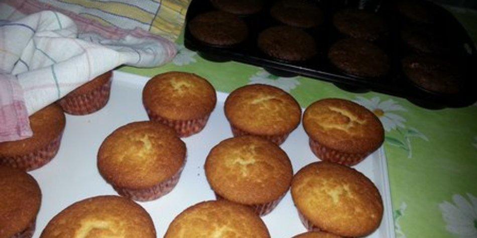Milrahm-Zitronenbuttermilch-Muffins