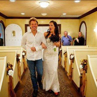 Jon Bon Jovi als Brautführer!