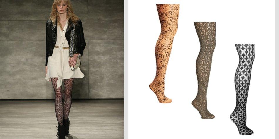 Billiger Preis wie man bestellt online Shop Mustergültiger Herbst-Trend 2015: Strumpfhosen mit Prints ...
