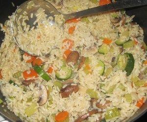 vegetarische Reispfanne
