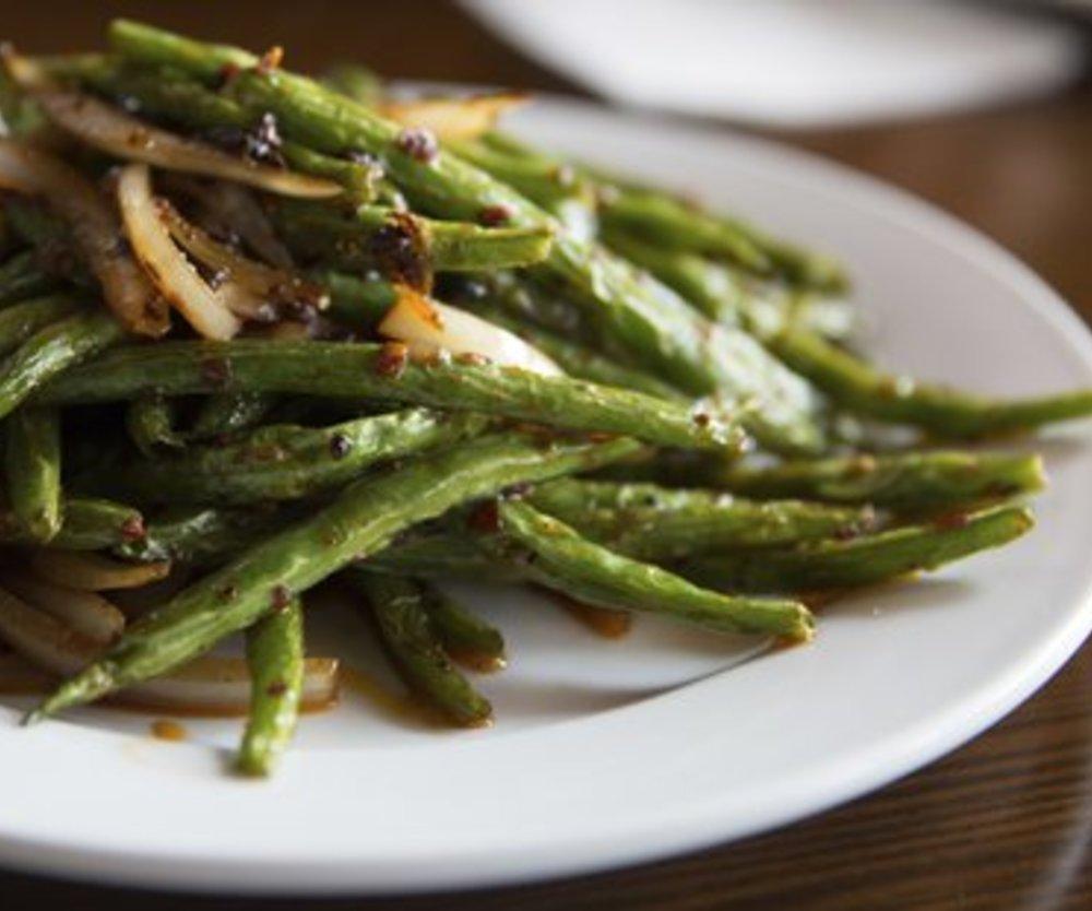 Grüne Bohnen zubereiten