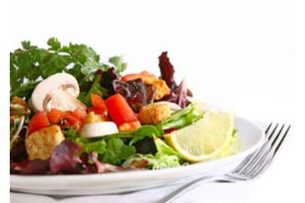 Für die Glyx Diät: Frischer gemischter Salat