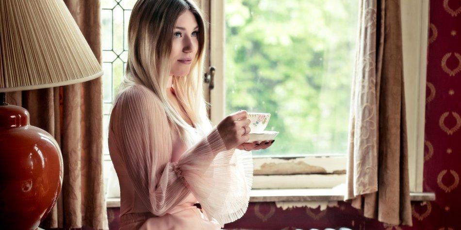 Bibi Heinicke in ihrem ersten Musikvideo