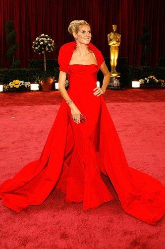 Heidi Klum bei den Oscars