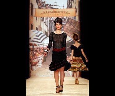 Lena Hoschek Schau auf der Berliner Fashion Week