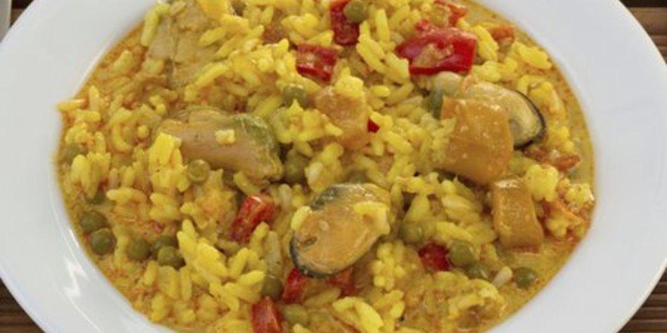 Djuvec Reis mit Fleisch