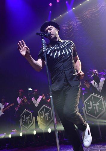 Justin Timberlake auf der Bühne
