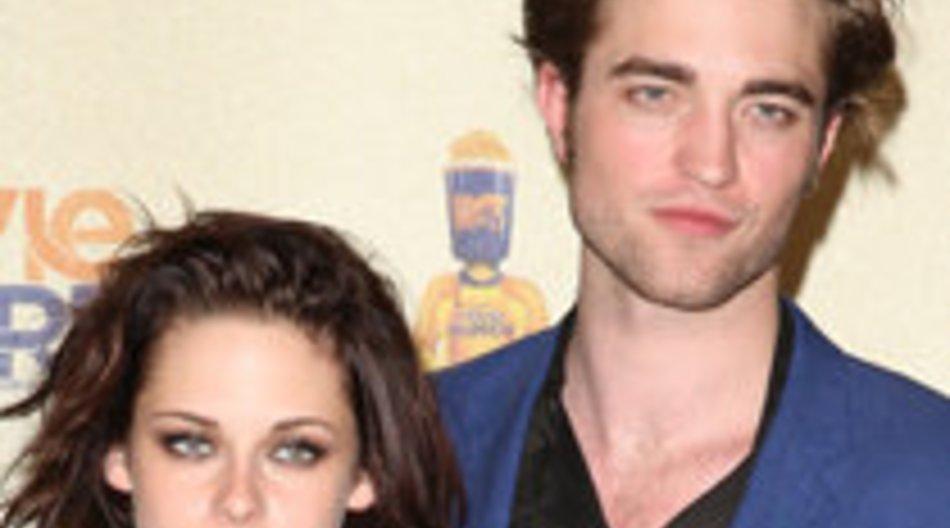 """""""Twilight""""-Stars Robert Pattinson und Kristen Stewart: Heiße Küsse?"""