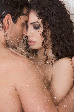 Zu zweit duschen