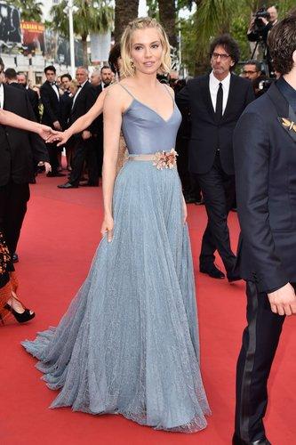 Sienna Miller in Cannes