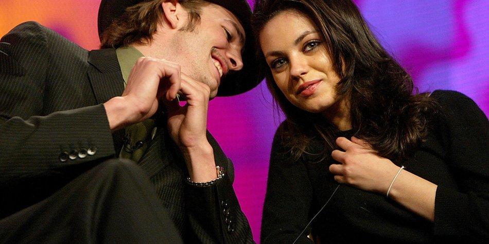 Ashton Kutcher und Mila Kunis: Heimlich verlobt?