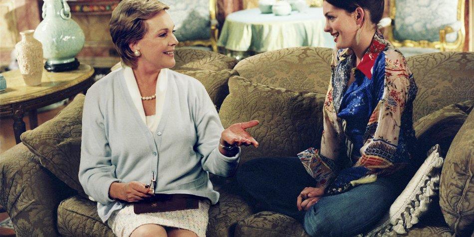 Julie Andrews und Anne Hathaway wollen mitmachen