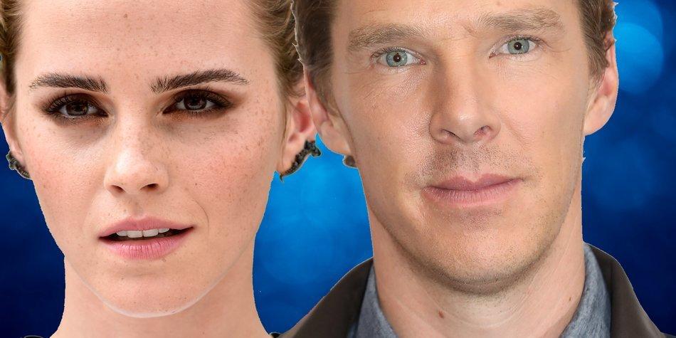Emma Watson und Benedict Cumberbatch