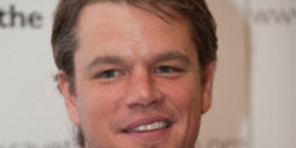 Matt Damon: Tierische Kollegen?
