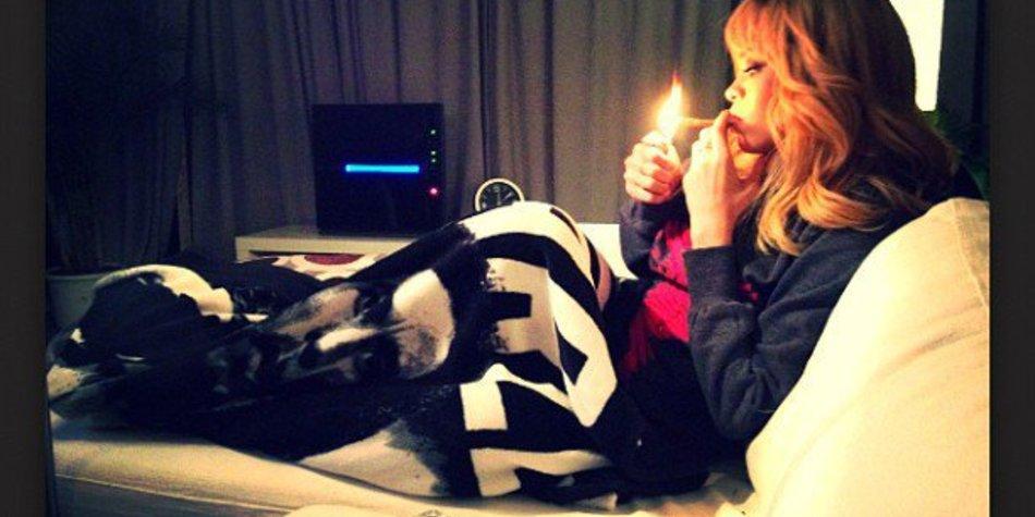 Rihanna und die Liebe zum Marihuana