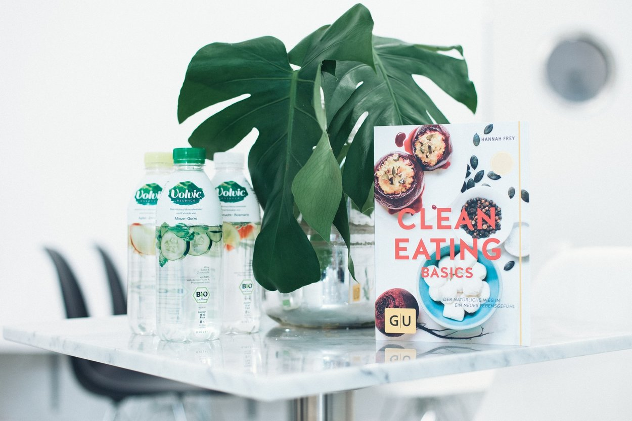 Volvic Essence Clean eating
