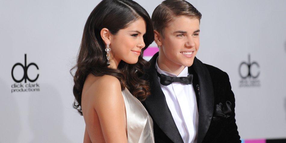 Justin Bieber und Selena Gomez zusammen im Tonstudio