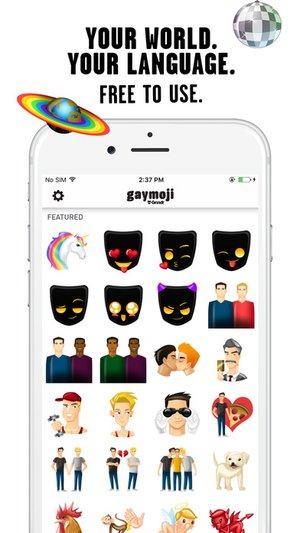 screen696x696 Gaymojis Grindr App