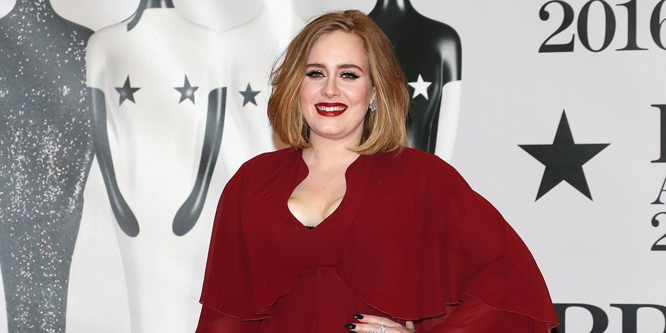 LONDON, ENGLAND - FEBRUARY 24: Adele attends the BRIT Awards 2016 at The O2 Arena on February 24, 2016 in London, England. (Photo by Luca Teuchmann/Getty Images)