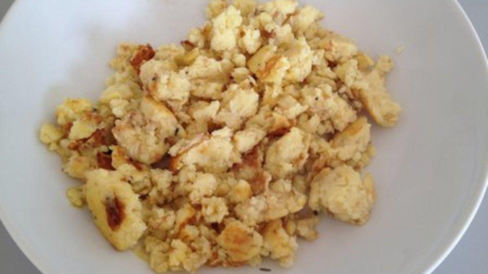 Kartoffelpüree braten