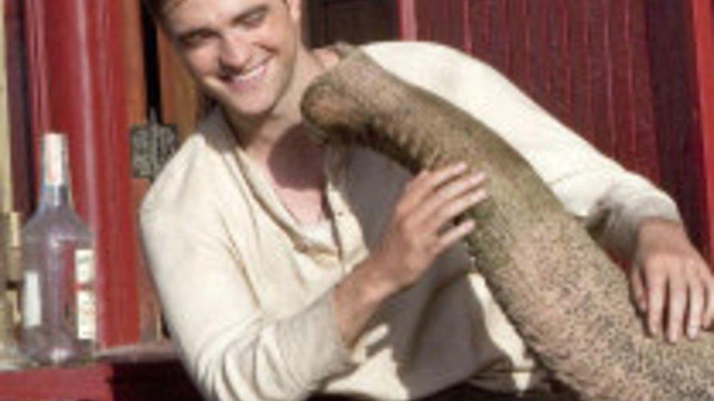Robert Pattinson: Der Elefanten-Flüsterer