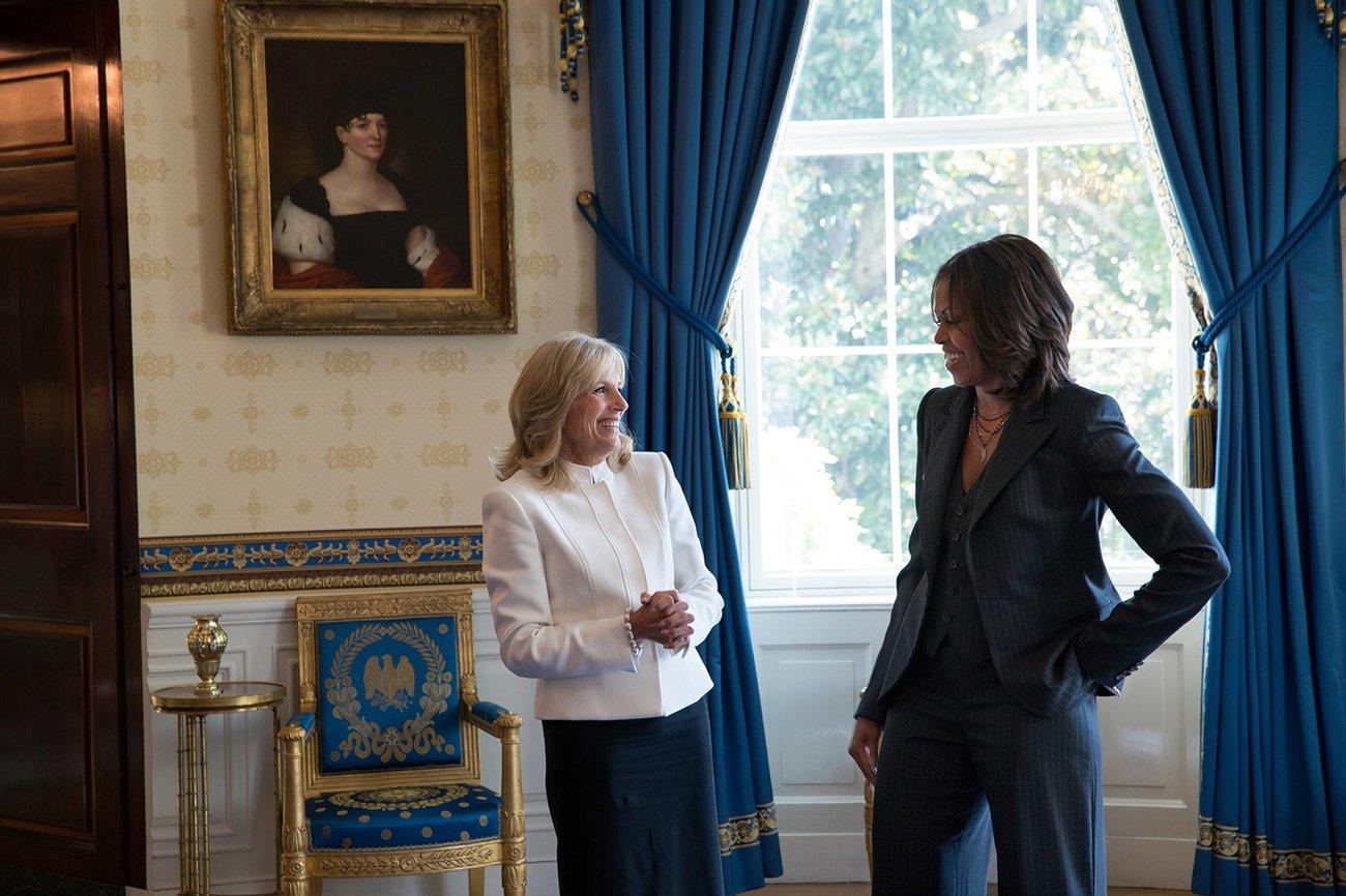 Dr. Jill Biden Michelle Obama