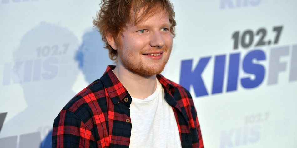 Ed Sheeran: Trocken dank Plattenvertrag