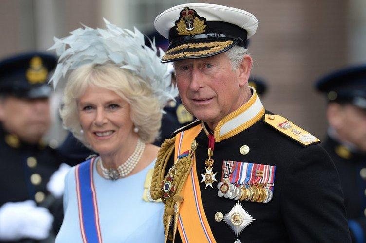 Prinz Charles und Ehefrau Camilla Parker Bowles